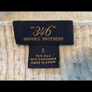 Brooks Brothers Sweaters - Brooks Brothers Silk / Cashmere Cardigan